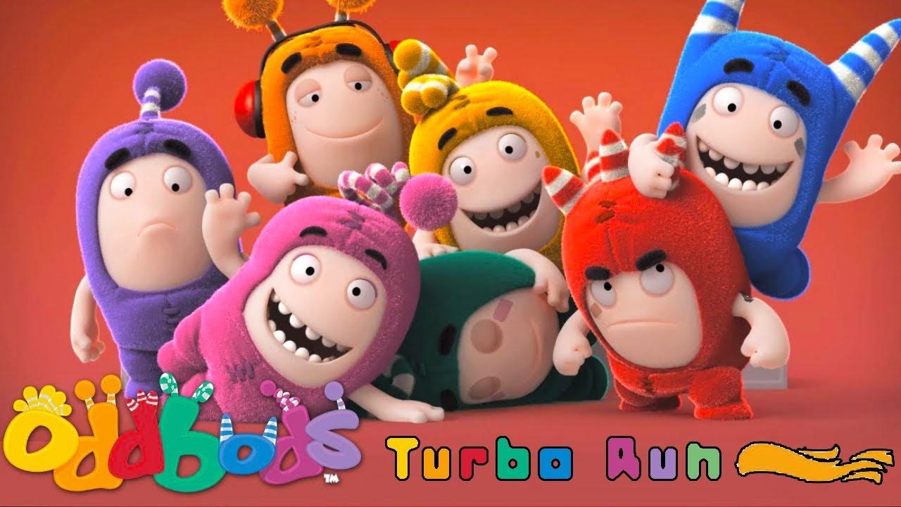 oddbods turbo run bild