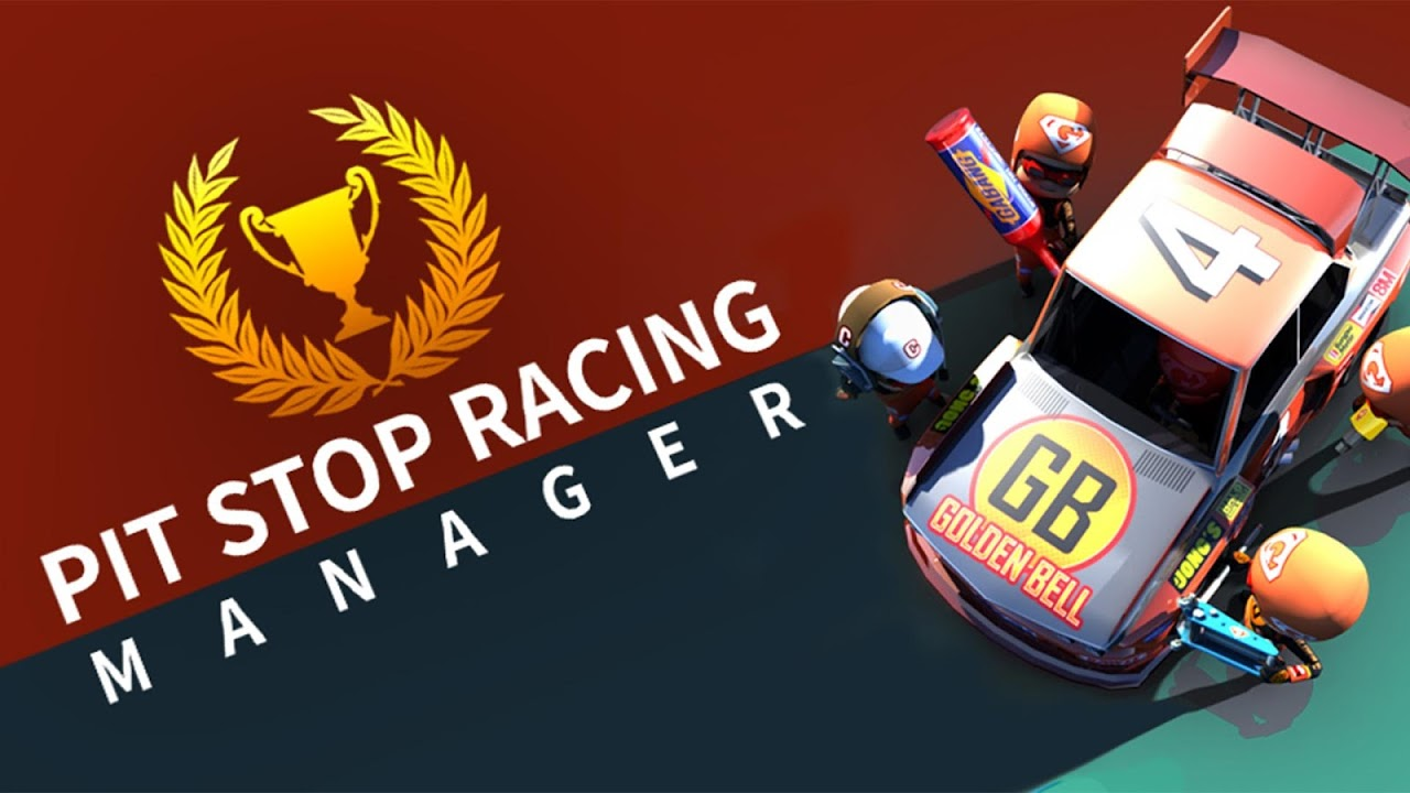 pit stop racing manager logo