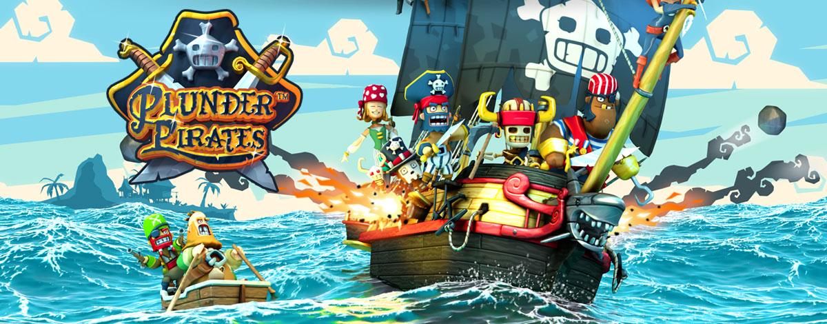 Plunder Pirates - Mobile Spiel
