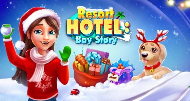 Resort Hotel: Bay Story - Puzzle Handyspiel (Deutsch)