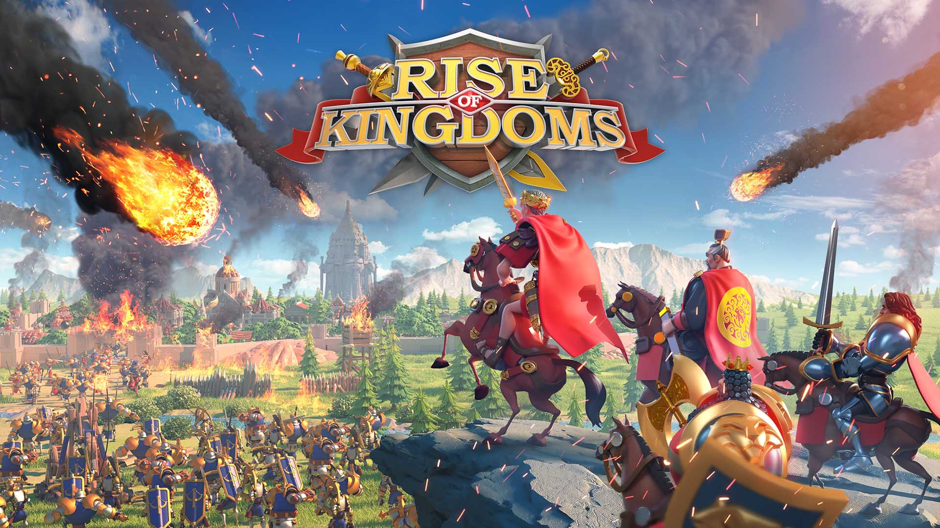 rise of kingdoms logo bild