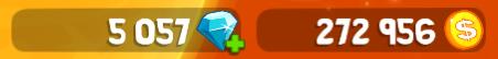 rovercraft kristalle und münzen