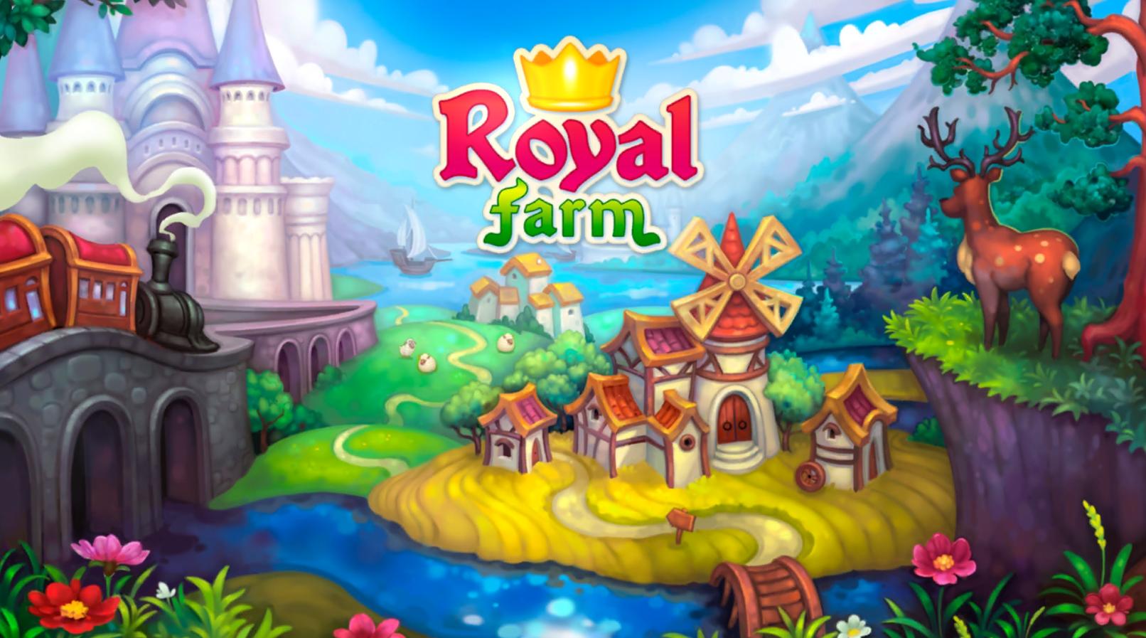 Royal Farm Spiel Logo