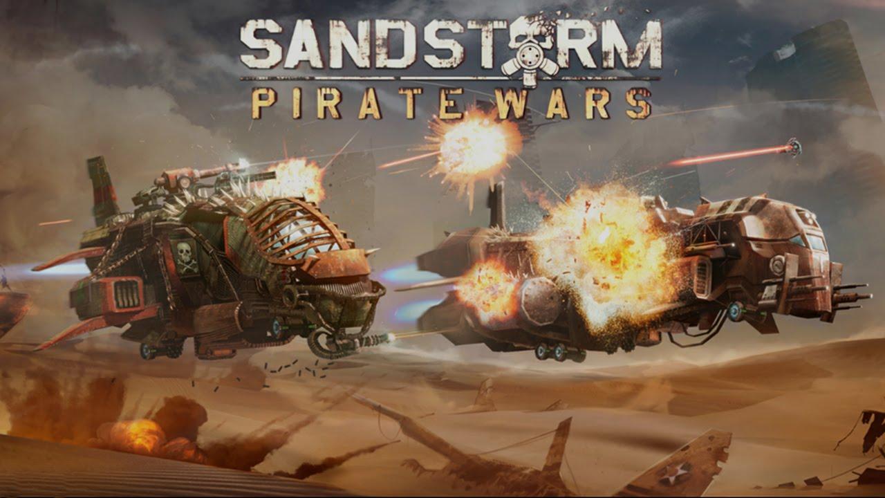 Sandstorm Pirate Wars Cheats - Spiel Logo