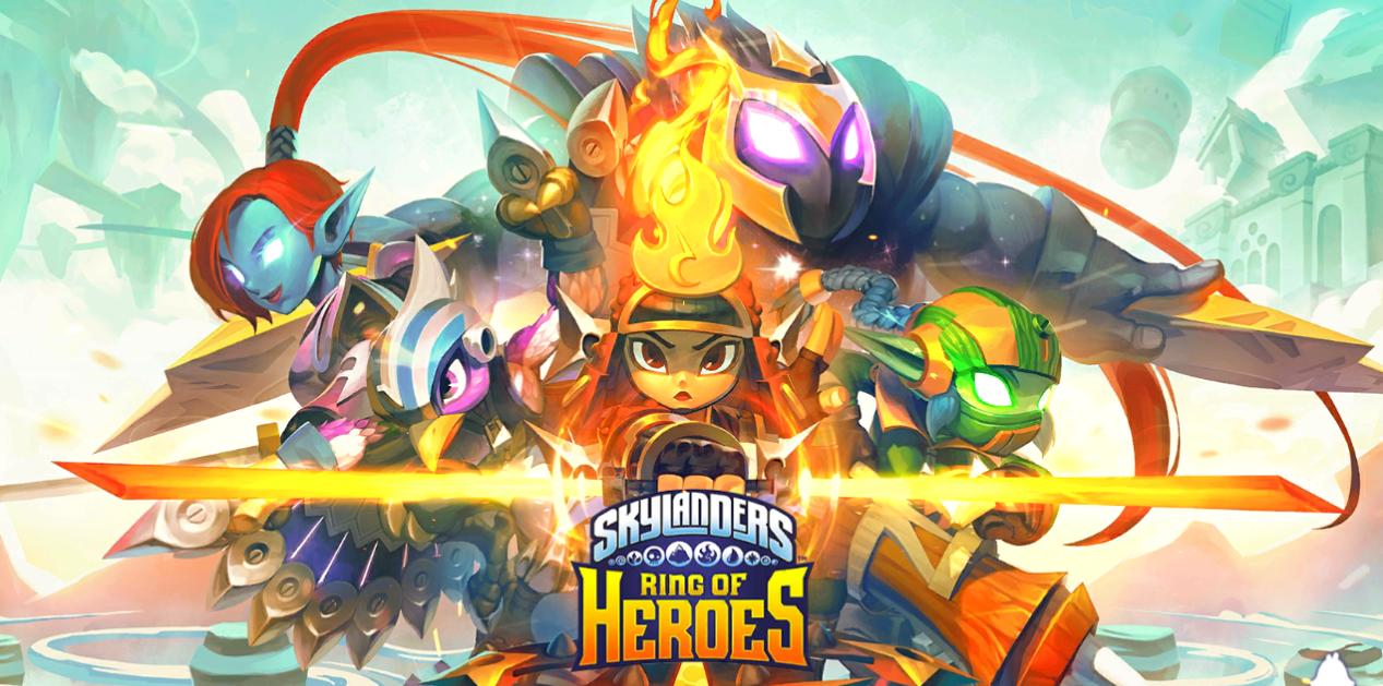 skylanders ring of heroes spiel bild