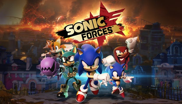 sonic forces logo bild