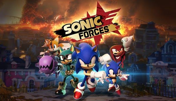 sonic forces logo bild