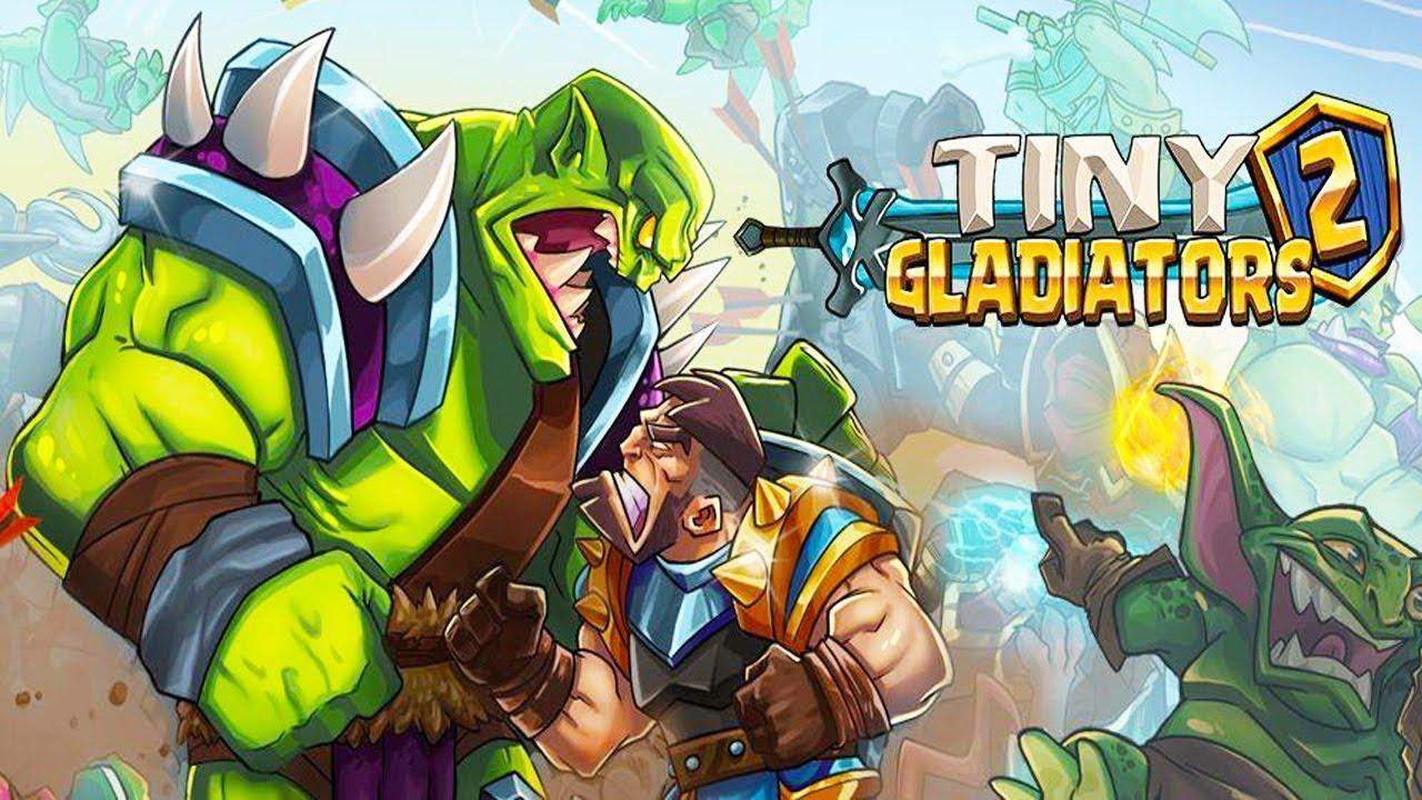 tiny gladiators 2 - handyspiel