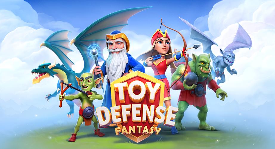 Toy Defense Fantasy - Handyspiel
