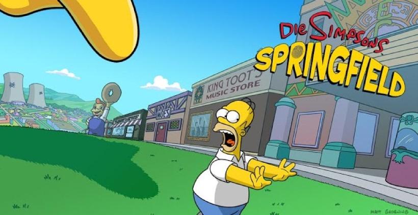 Die Simpsons Springfield ist eines der coolsten Handyspiele