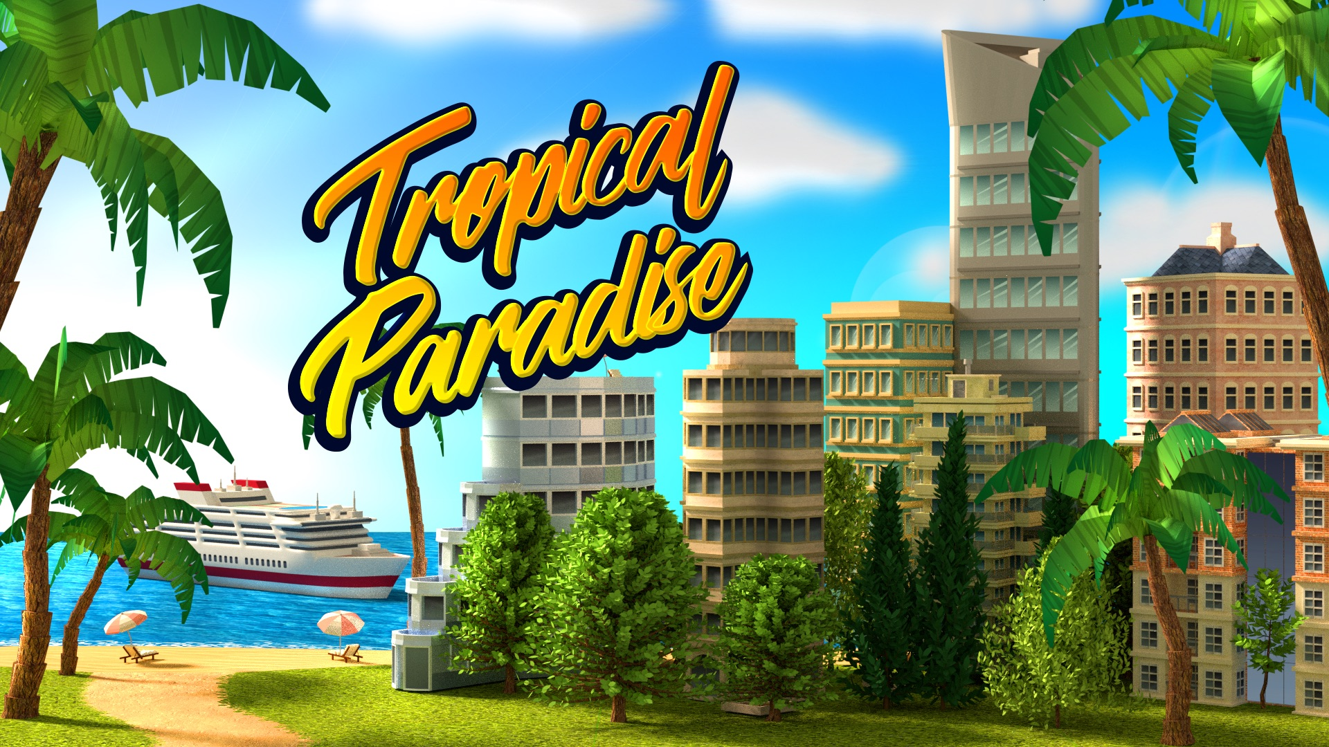 Tropical Island Spiel
