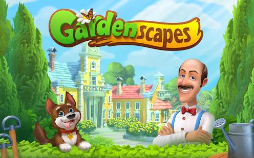 Gardenscapes - Spielelogo Deutsch
