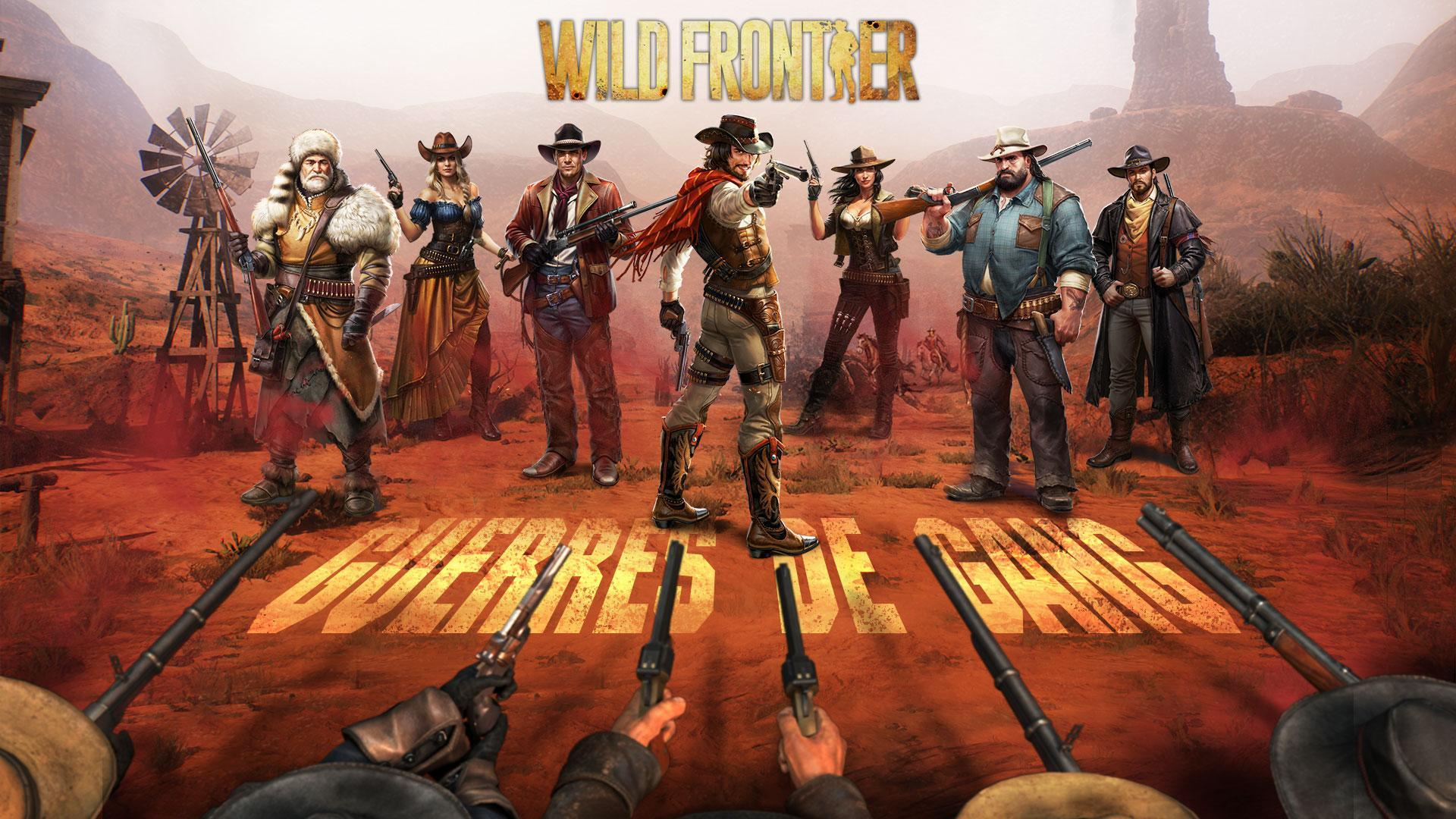 Wild Frontier - Spiel Deutsch