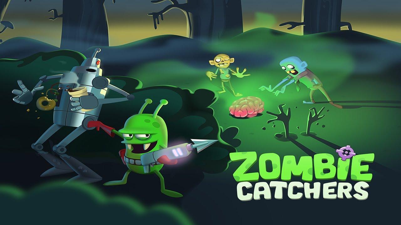 Zombie Catchers - fange so viele Zombies wie möglich!